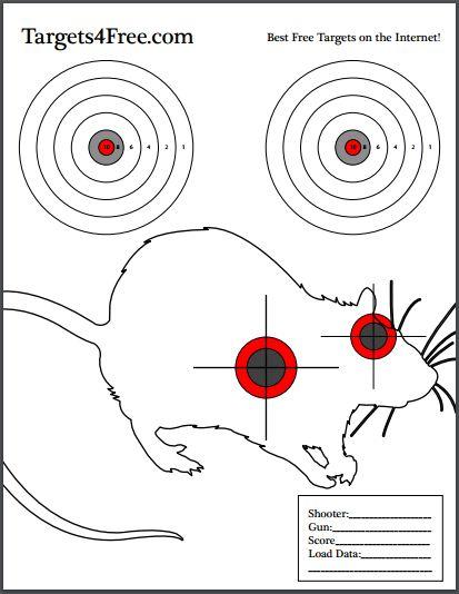 rat target version 1 shooting pest control
