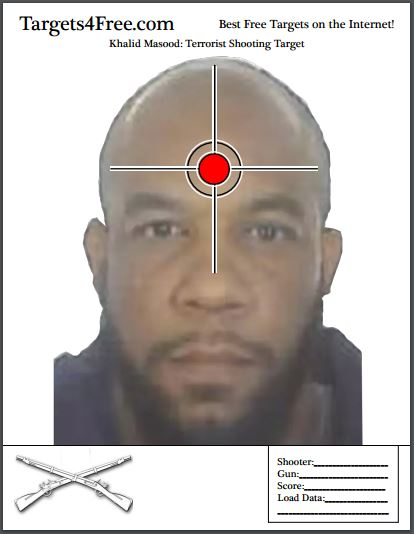 Khalid Masood London Terrorist Shooting Target