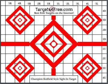 photograph relating to 100 Yard Zero Target Printable called sight-in just plans Archives - Objectives4Free of charge